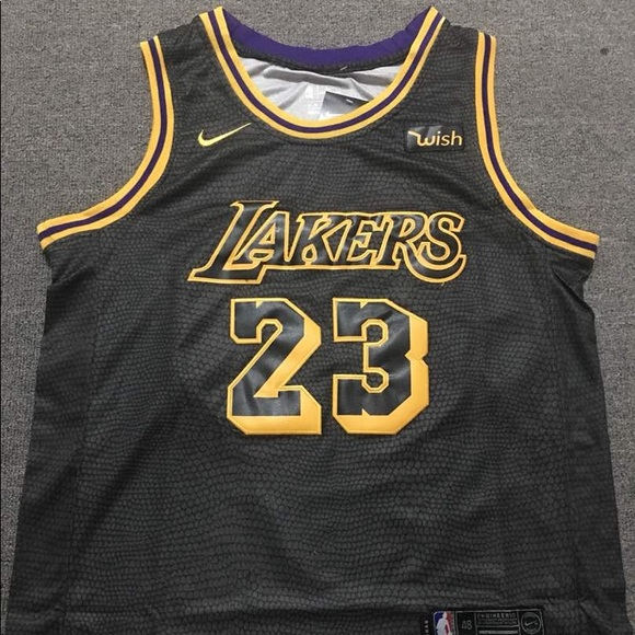 save off 0d34f 5618a NEW Nike Lebron James NBA LA Lakers Jersey NWT